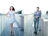 Street Style: on the rooftop patio at the Thompson Hotel
