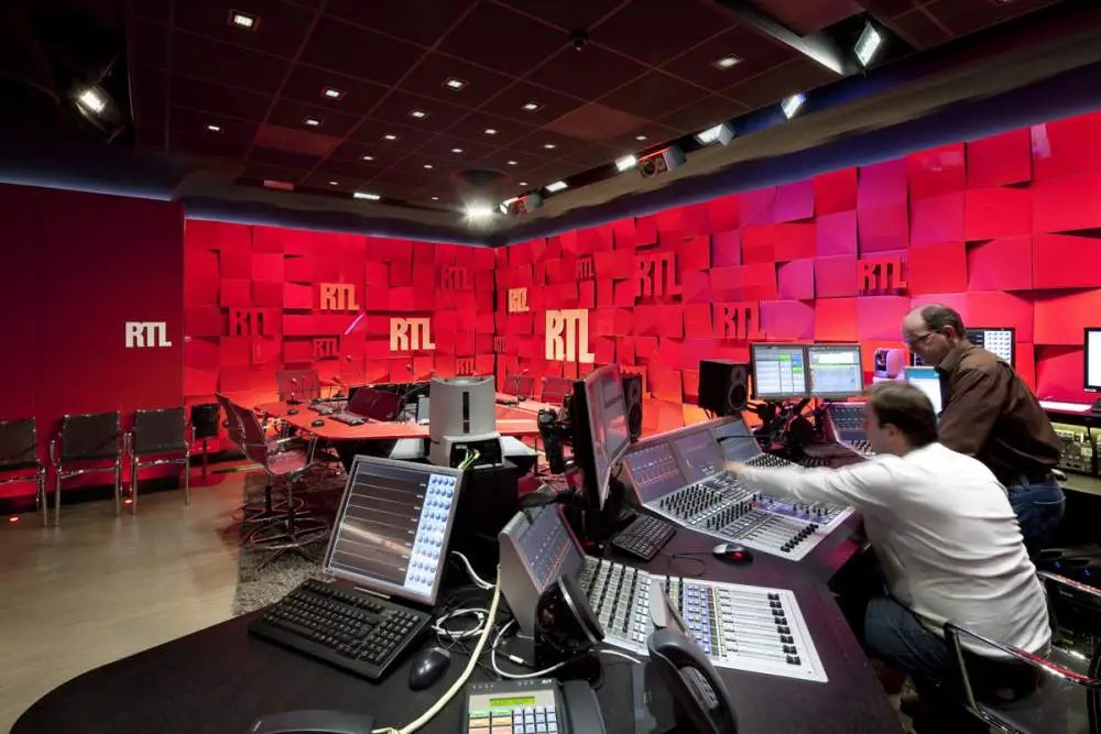 Studios RTL, Paris, France