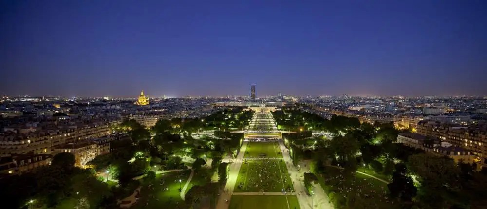 Champs de Mars, Paris by night