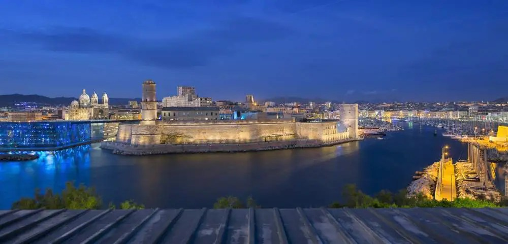 Fort Saint Jean, Marseille by night