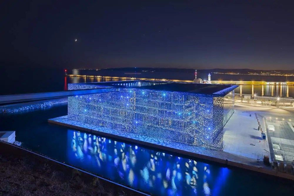 MUCEM, Marseille by night