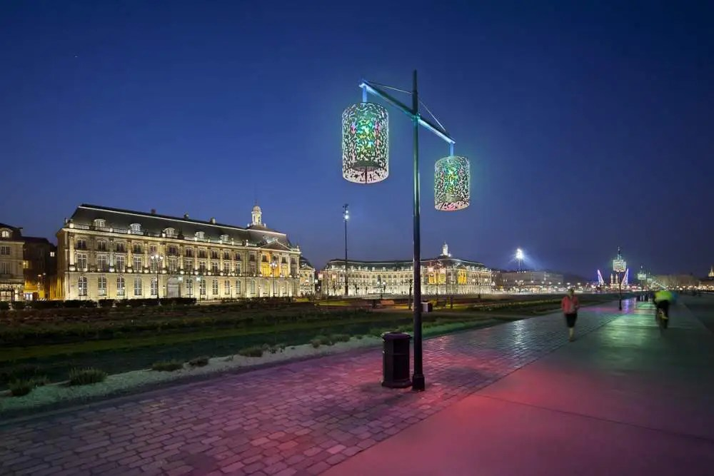 Place de La Bourse, Bordeaux by night