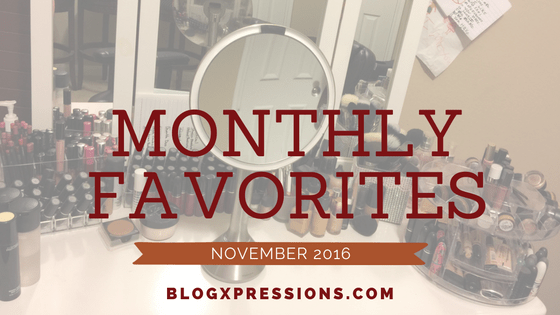 November Favorities