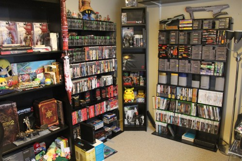 Medium Of Video Game Shelf