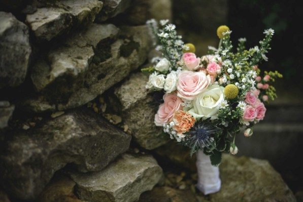 Le bouquet de la mariée, photo Alexandra Rayssac