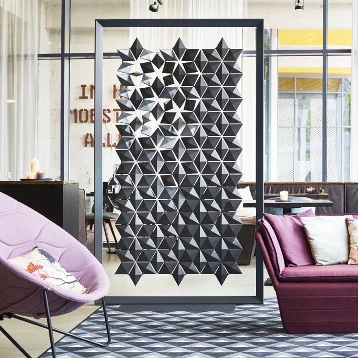 Freestanding Room Divider Facet \u2022 Bloomming