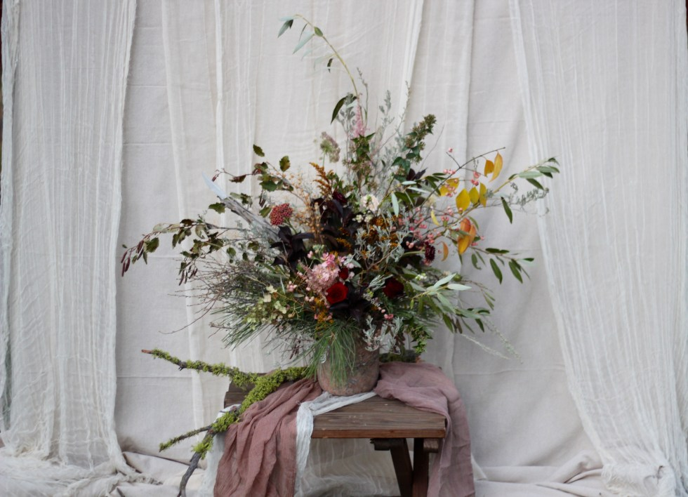 Bloomsbury Blooms Foraged Centerpiece