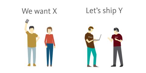 Customers vs. Startups