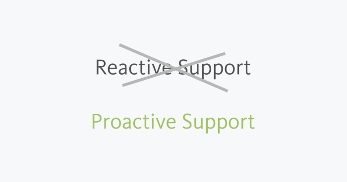 Proactive Customer Support