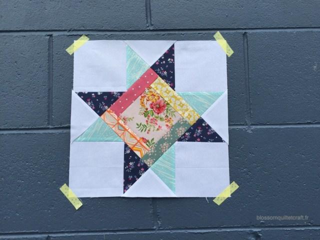 étoile patchwork