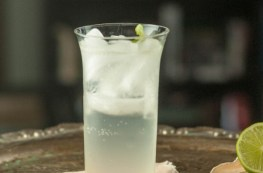 The All's Fair. Gin, lovage syrup, lime, soda. A refreshing alternative to a gin and tonic. From Blossom to Stem   Because Delicious www.blossomtostem.net
