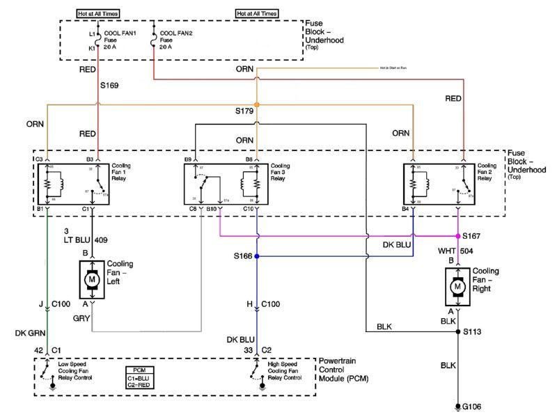 2011 Cruze Radiator Fan Wiring Diagram Electronic Schematics