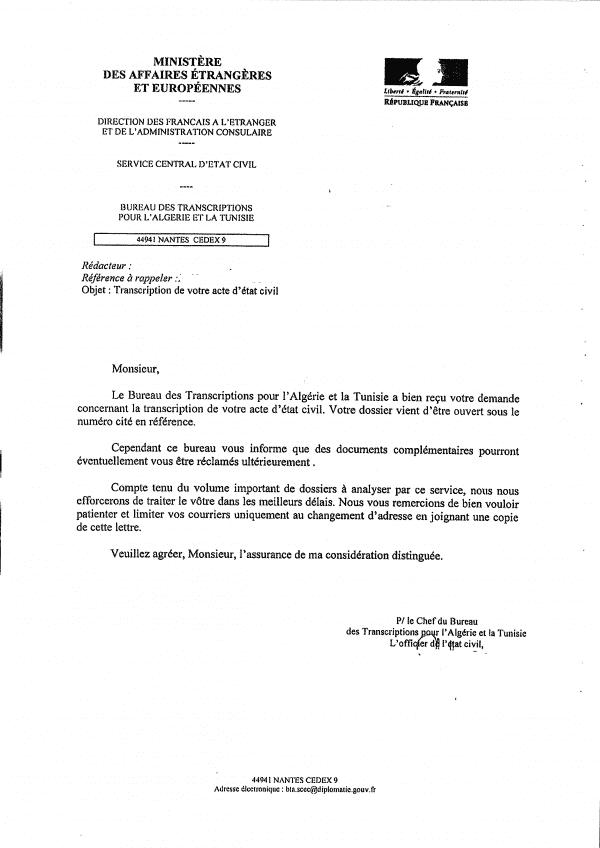 photo lettre administrative demande de rectification modele lettre
