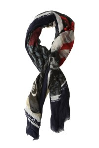 Yigal Azroul Picture That Scarf | Blue&Cream
