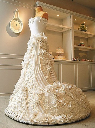Is It A Wedding Dress or Cake?