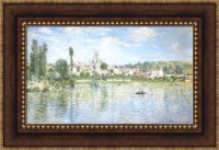 Claude Monet Vetheuil in Summer Framed Canvas Giclee Print ...