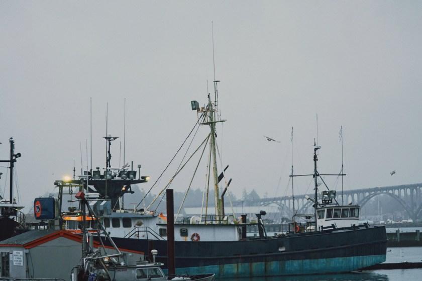 Newport Oregon Coast Dock
