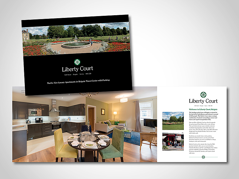 Company Brochure Design and Corporate Marketing Material - property brochure