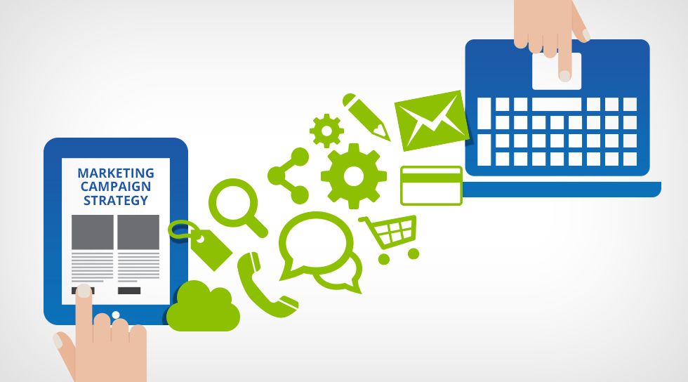 Marketing Campaign Strategy Taking an Omni-Channel Approach Blue