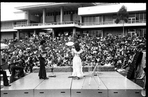 Santa Barbara Old Time Fiddlers' Convention, UCSB, 1973