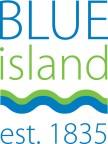 Blue Island box logo