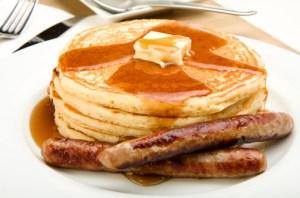 Pancakes-and-Sausage-