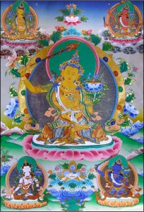 Manjushri - Bodhisattva of wisdom