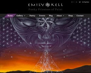 Visionary Artist Website