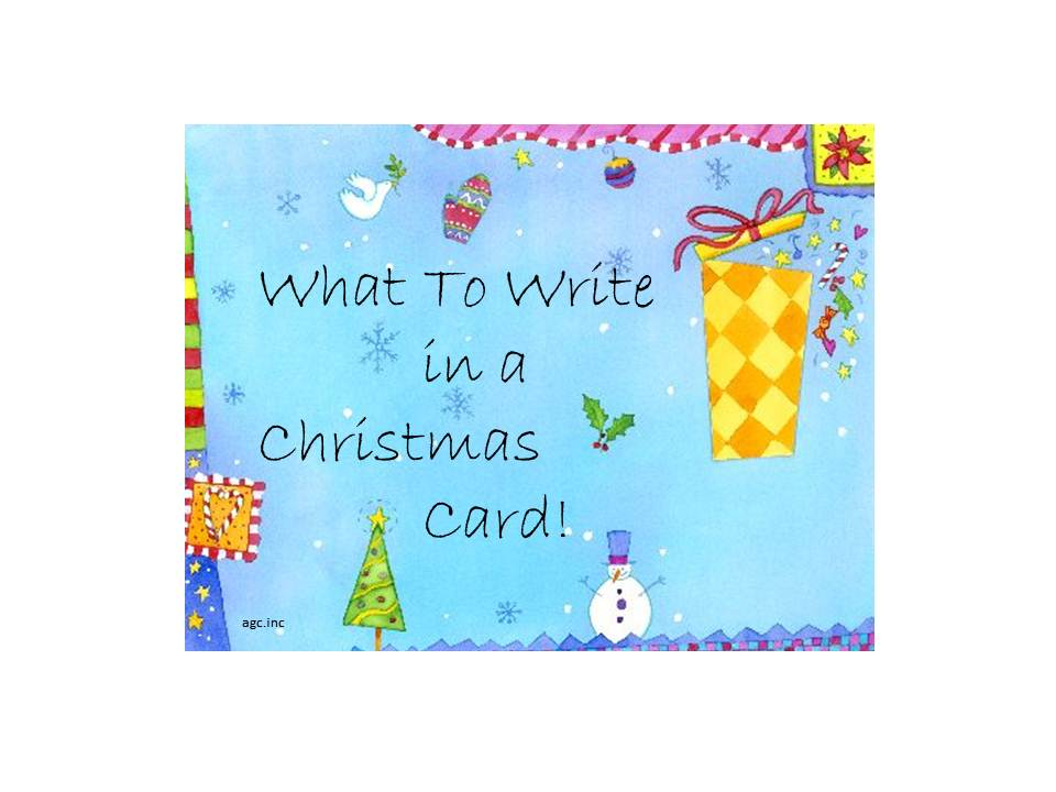 what to write in Christmas cards Archives - Blue Mountain Blog