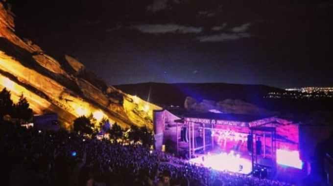 Red Rocks Morrison, CO 2016