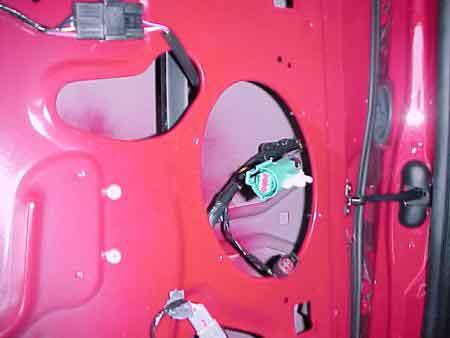Ford Keyless Entry Key Pad Installation