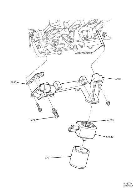 2003 ford v10 engine diagram