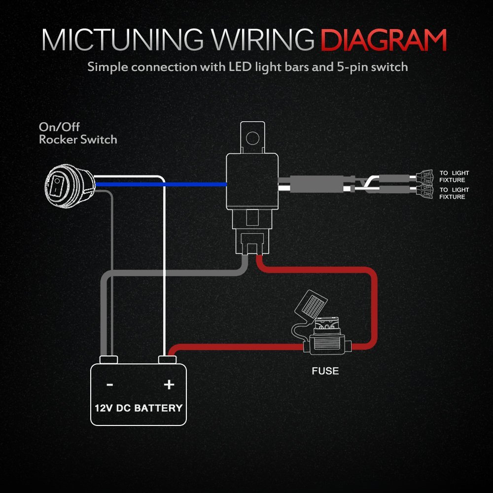 led equipped light bar wiring diagram