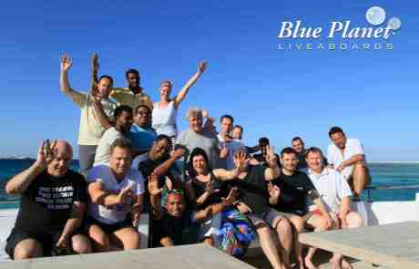 group from MY Blue Pearl 25.09.-02.10.2014