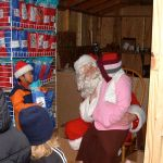 Santa Makes Stop At Nelson Food Pantry This Past Weekend