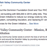 Nelson Resident In Meeting With RVCC Responds About Dominion Grant To Center
