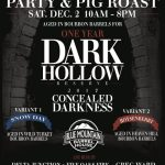 Arrington : Blue Mountain Barrel House Annual Concealed Darkness Release Party - Saturday : December 2nd,
