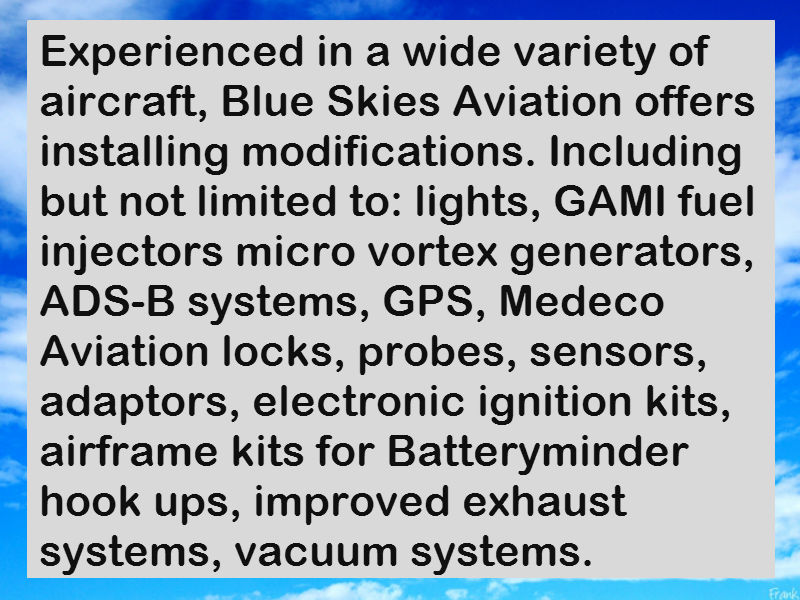 Blue Skies Aviation