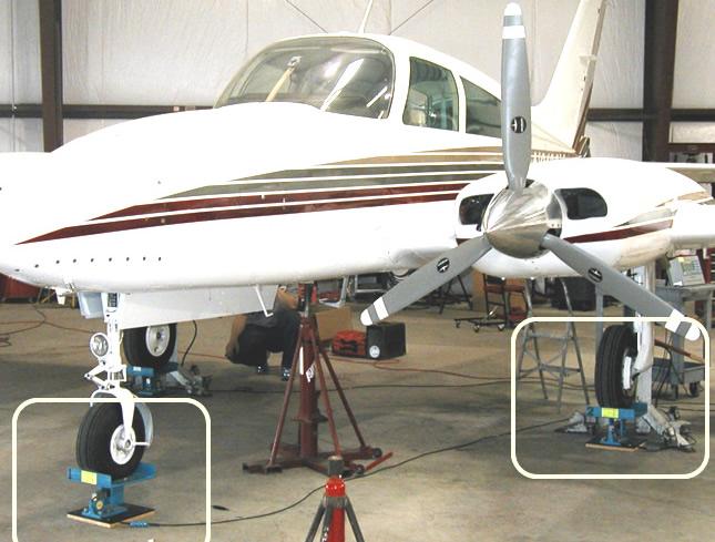 Weigh Balance Aircraft with Blue Skies Aviation at KHYI San Marcos Texas