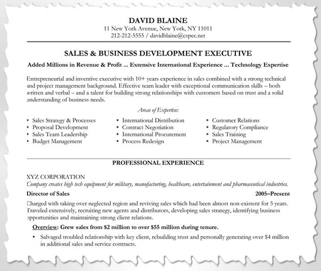 How to Customize Your Resume Blue Sky Resumes Blog - international experience resume