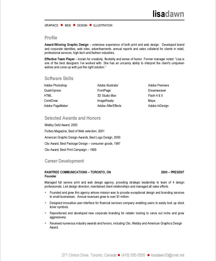 web design resume sample 3slufsluidsprekers - web design resume example
