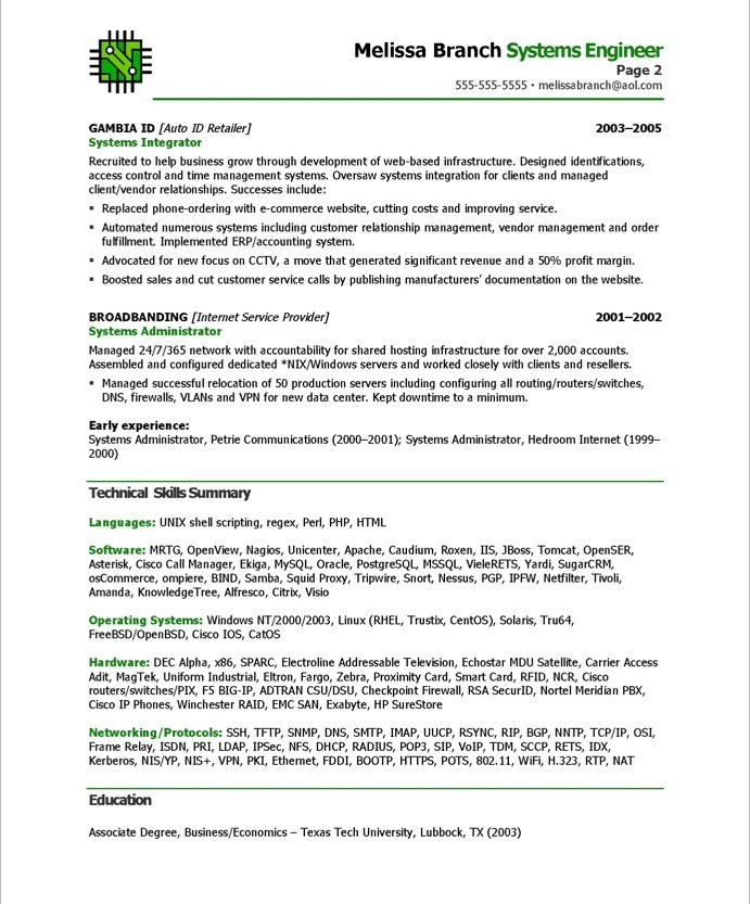 Systems Engineer Free Resume Samples Blue Sky Resumes - System Engineer Resume Sample