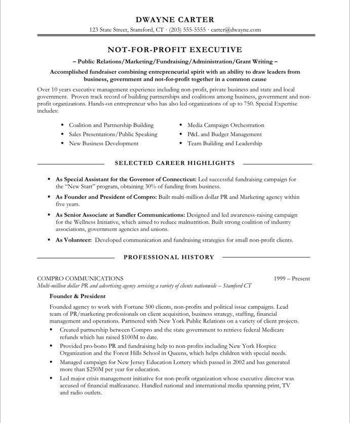 resume header samples resume samples archives free resume samples cover non profit marketer free resume samples