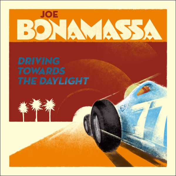 joe bonamassa - driving towards the daylight - album cover
