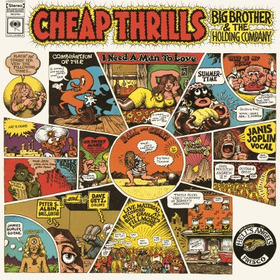 ANIS JOPLIN - CHEAP THRILLS