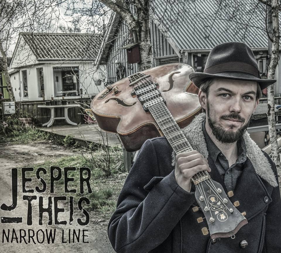 Anmeldelse: Jesper Theis: Narrow line (Straight Shooter SHOT 019)