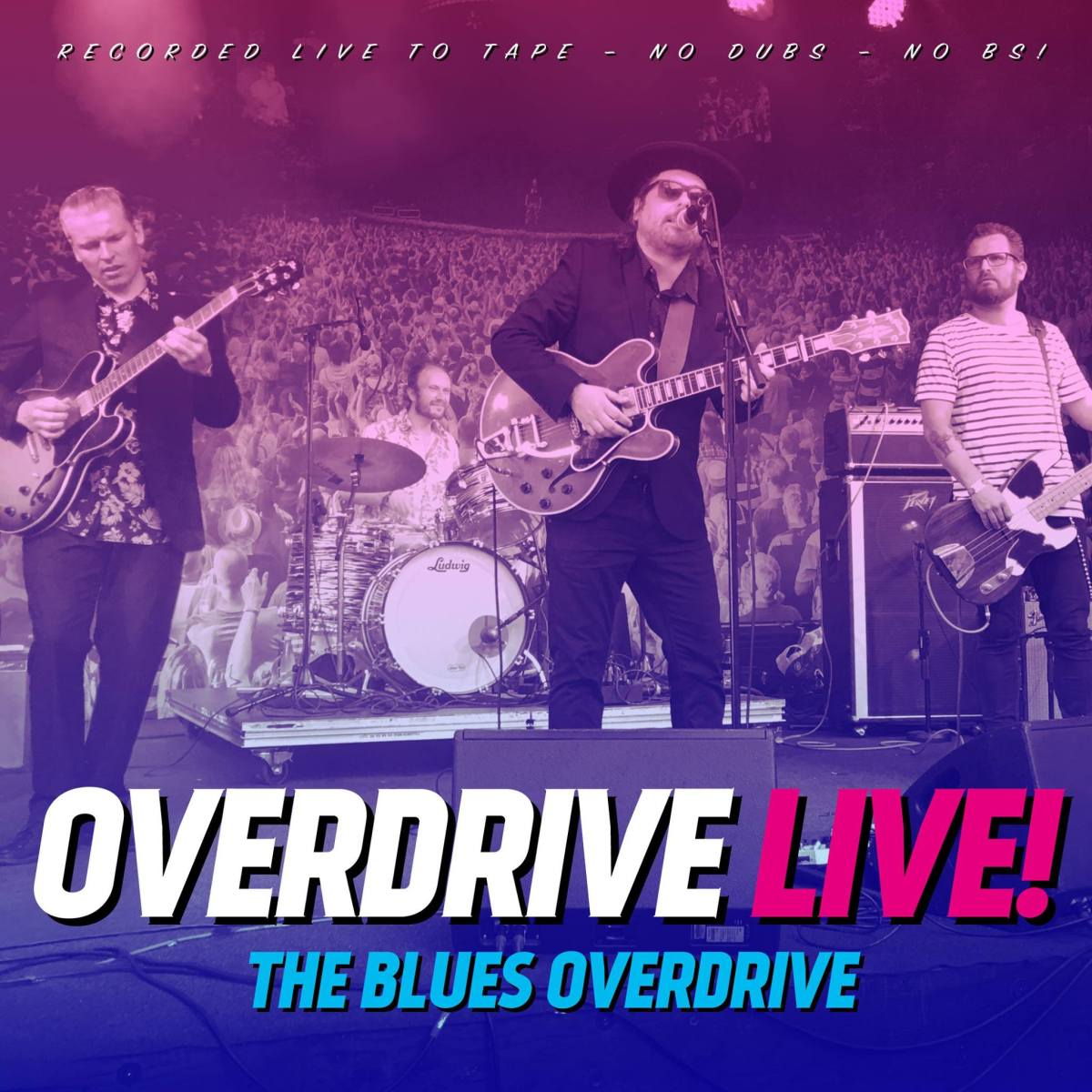 Anmeldelse: The Blues Overdrive: Overdrive live! (Gateway Music TBO-150517)