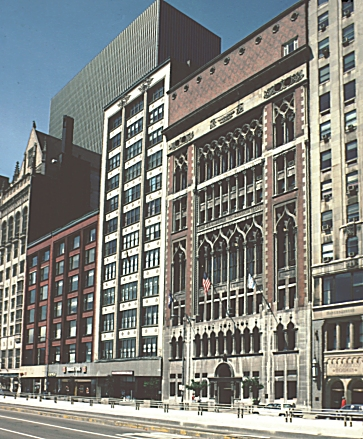 Images of Gage Building, Chicago, by Louis Sullivan, 1898. Digital Imaging Project: Art ...