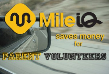 Mile IQ Saves Money For Parent Volunteers