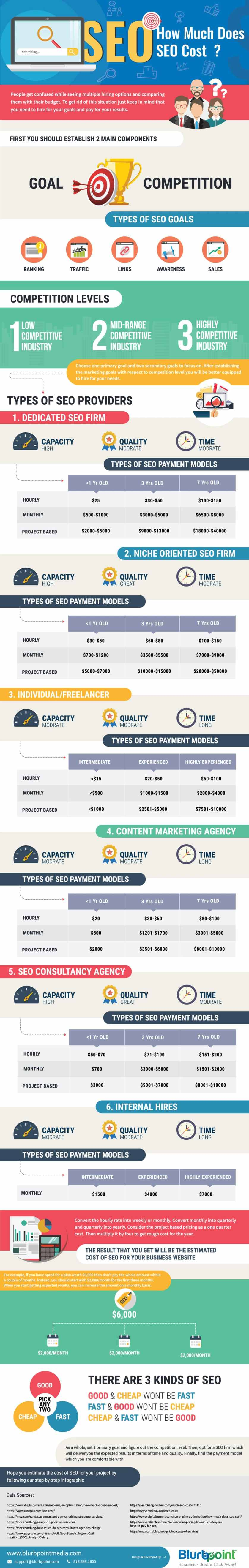 How Much Does SEO Cost – Infographic